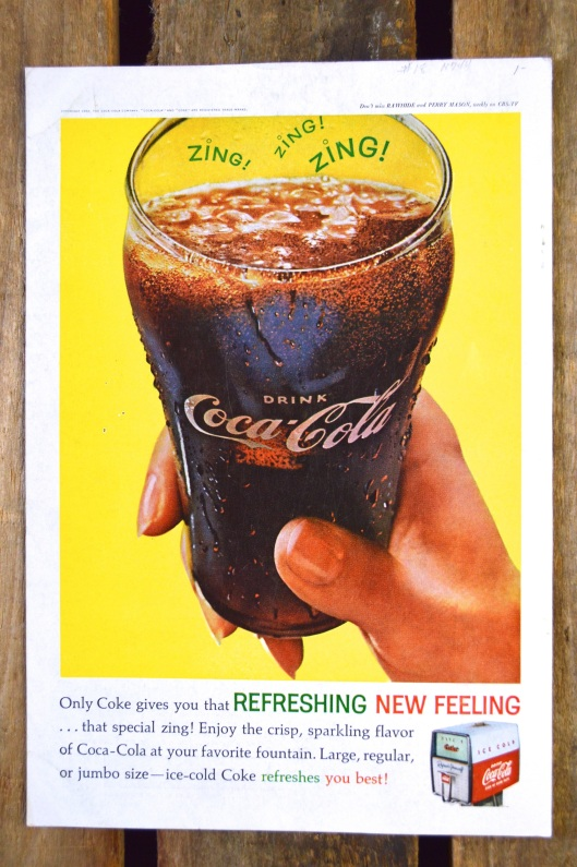 Back in 1962 Coca Cola