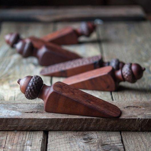 acorn doorstop