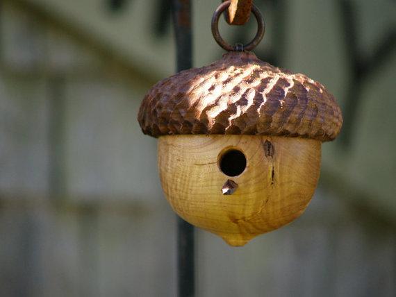 cattails woodwork etsy birdhouse