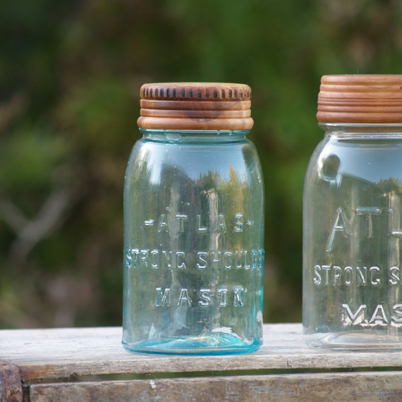cattails woodwork etsy mason jar lid