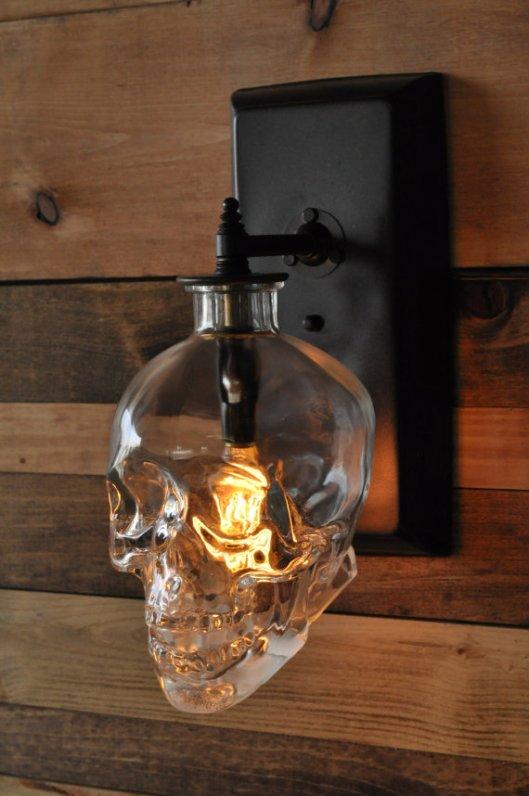 MoonshineLamp skull